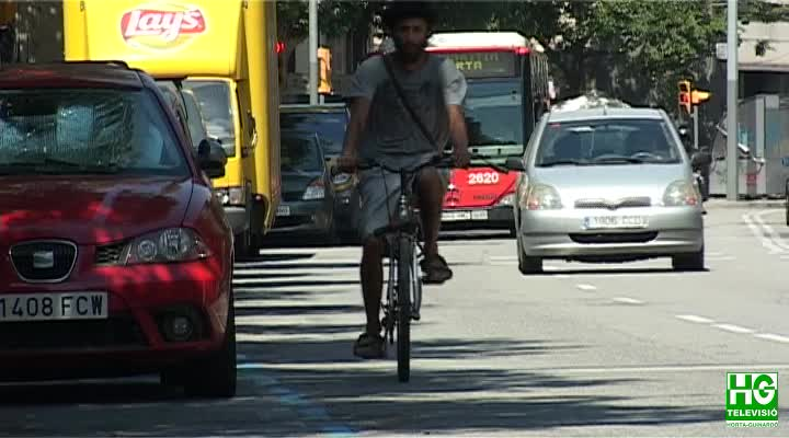 Demanen un carril bici al passeig de Maragall